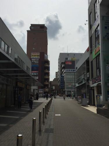 鶴川駅北口から左を向いてココデンタル方向へ